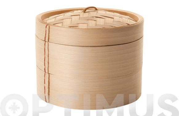 Vaporera bambu 20 cm