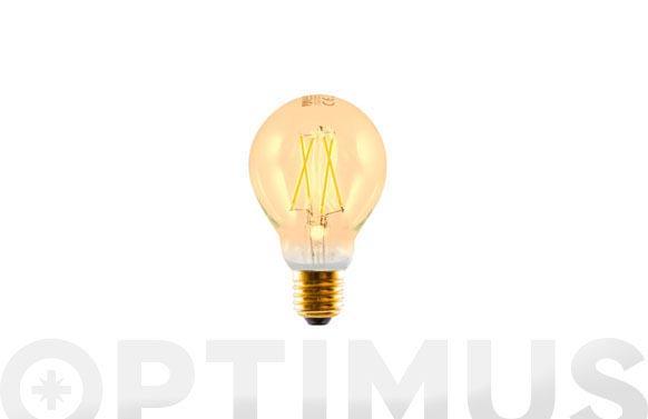 Bombilla led filamento standar 3w e27 300lm luz calida (2200k)