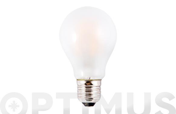 Bombilla led filamento stand opal (3000k) 6w e27 luz calida