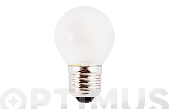 Bombilla led filamento esf opal (3000k) 3w e27 luz calida