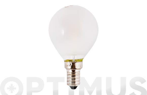 Bombilla led filamento esf opal (3000k) 3w e14 luz calida