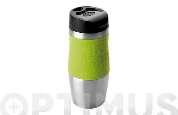Vaso termo hermetico luxe verde 400 ml
