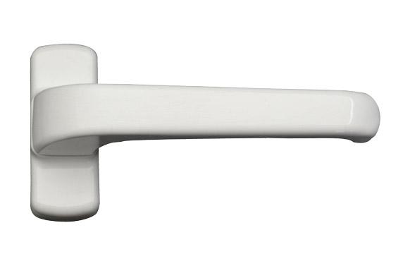 Manilla carpinteria aluminio (juego) 6800 blanco