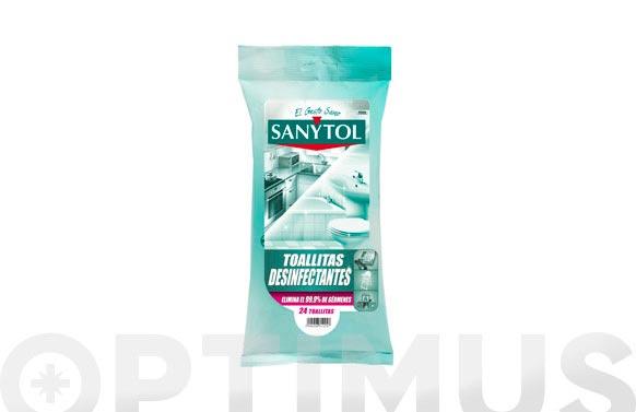 Toallitas desinfectantes multiusos 24 uds