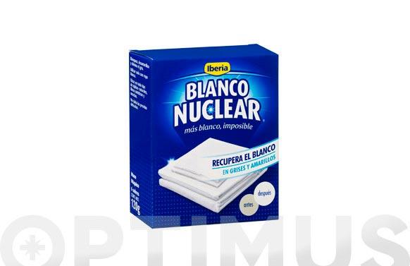 Blanqueador blanco nuclear sobres 120 gr