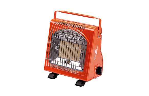Estufa portatil infrarrojos cartucho 250gr naranja