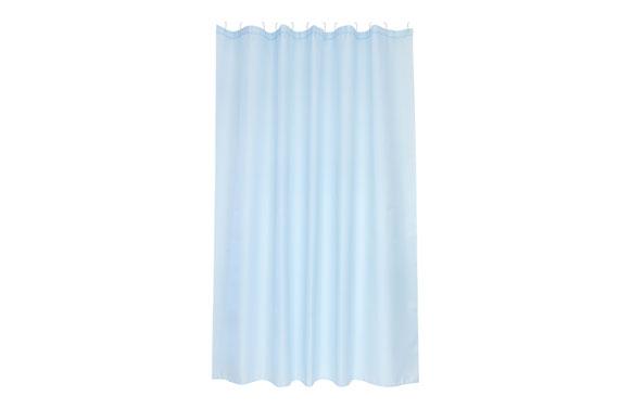 Cortina baño poliester soul azul 180 x 200 cm