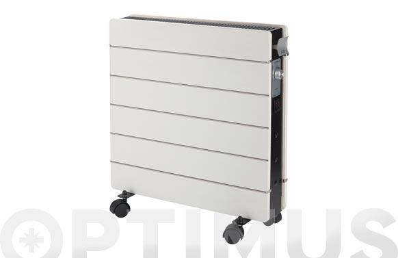 Radiador placa silicio classic con ruedas 2000w 50 x 56 x 10 cm