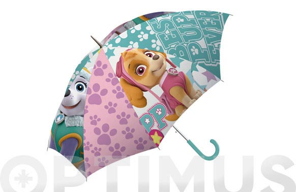 Paraguas infantil automatico skye patrulla canina