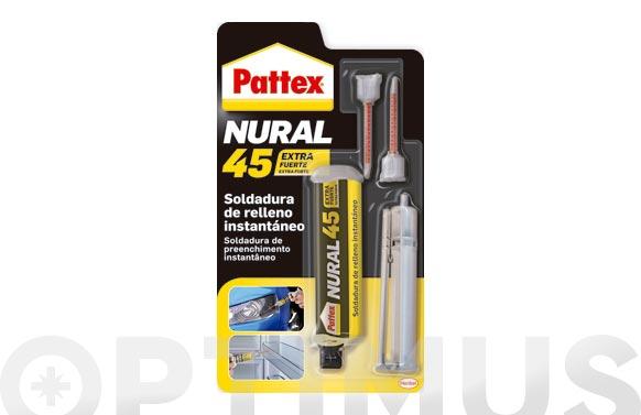 Adhesivo instantaneo con relleno pattex nural 45 11 gr