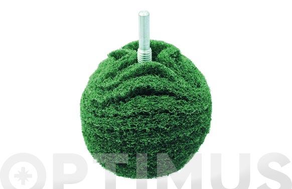 Bola pulir metales ø 75 mm verde pulido medio