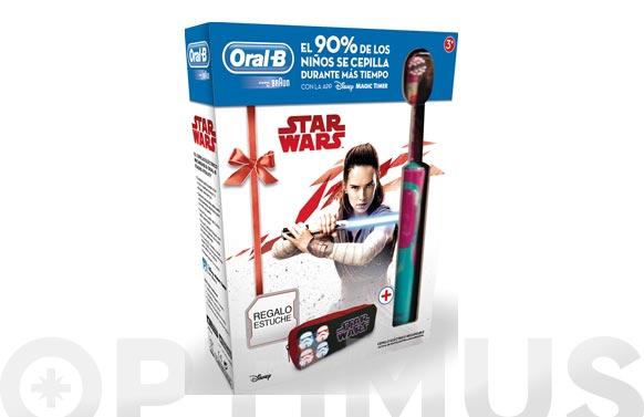 Cepillo dental infantil oral-b star wars+estuche