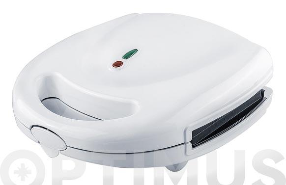 Sandwichera placas desmontables blanco sandwich/grill
