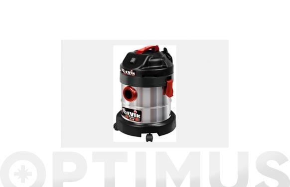 Aspirador solidos liquidos inox 1200 w 20 litros