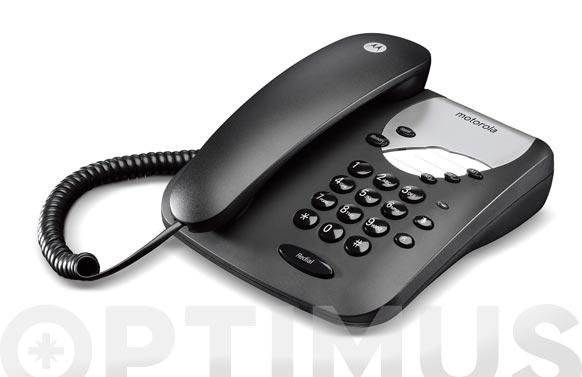 Telefono de cable sin display ct1 negro
