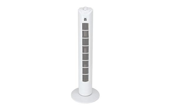 Ventilador torre blanco temporizador 1 hora 50 w h80 cm