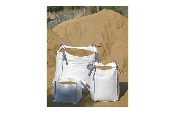 Saco rafia escombros big bag 100x90x90 cm blanco