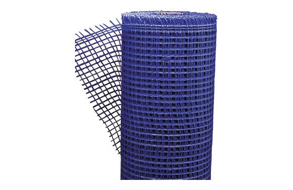 Malla revocos fibra vidrio azul 10 x 10 rollo de 50 m x 100 cm