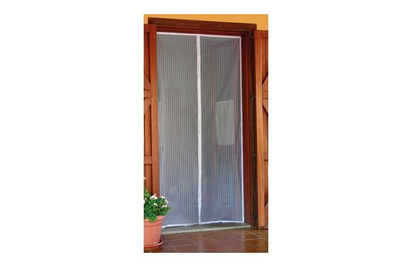 Mosquitera magnetica para puerta 120x230 cm - blanco
