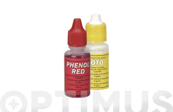 Recambio reactivos oto y ph