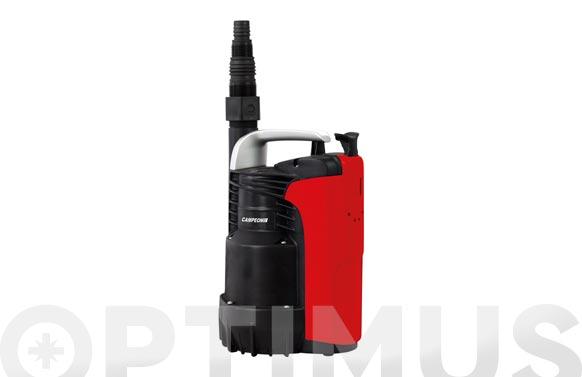 Bomba sumergible aguas limpias 300w con flotador 7.500 l/h
