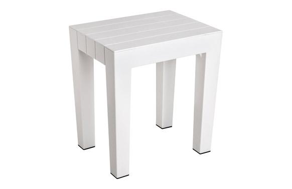 Banqueta lombok 38x29x41 blanco