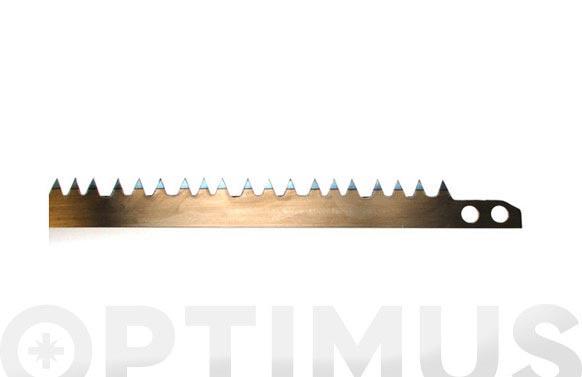 Hoja sierra tronzar 21  53,3 cm. diente normal para madera seca