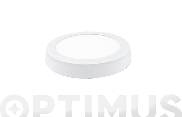 Downlight superficie redondo led 18w blanco 1800 lm 4000k