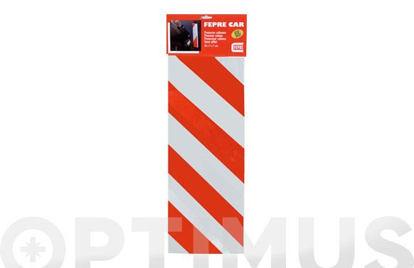 Protector de parking columna en esquina 35 x 16 x 1,5 cm