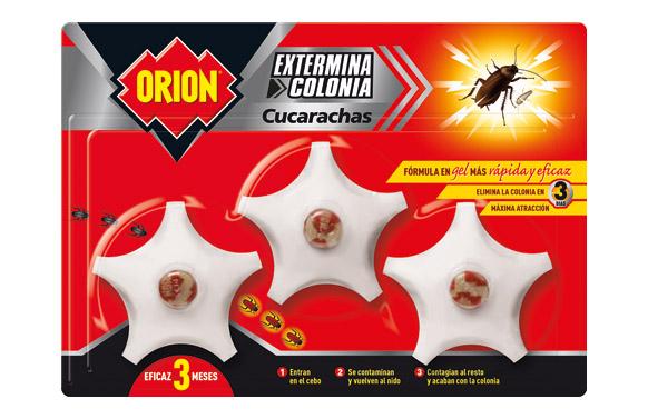 Insecticida cebo cucarachas 3 uds