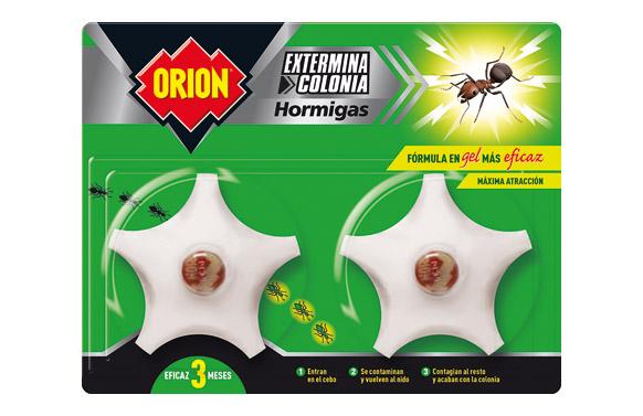 Insecticida cebo hormigas  2 uds