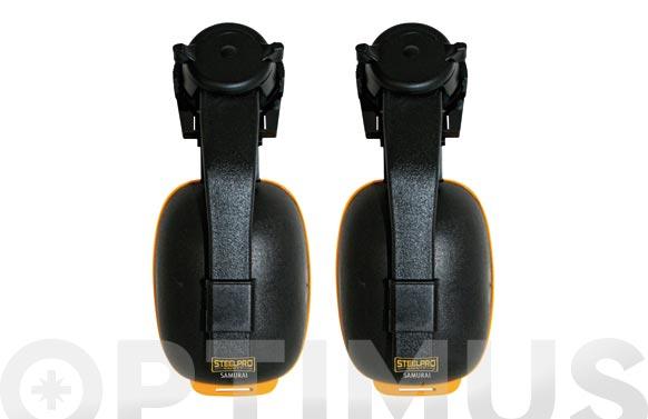 Protector auditivo samurai para casco snr 29 db