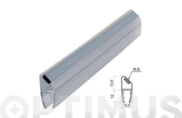 Perfil magnetico mampara baño/ducha 45. n-s/6-8mm/2mt