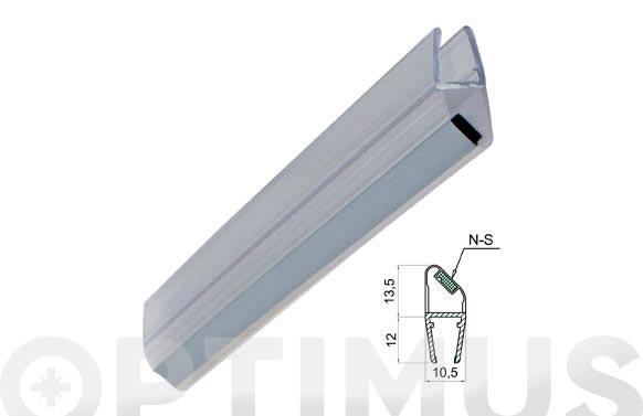 Perfil magnetico mampara baño/ducha 45. s-n/6-8mm/2mt