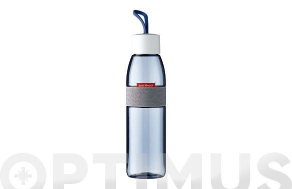 Botella para agua ellipse azul denim nordico 500 ml