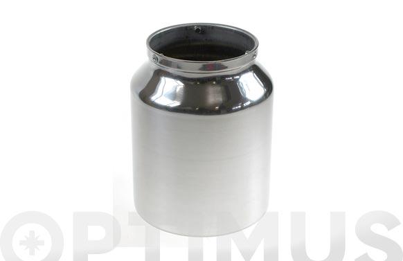 Deposito aluminio 1000 cc para pistola pintar 9660402