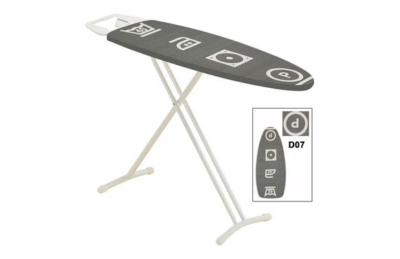 Tabla planchar 116x35 simple-gris