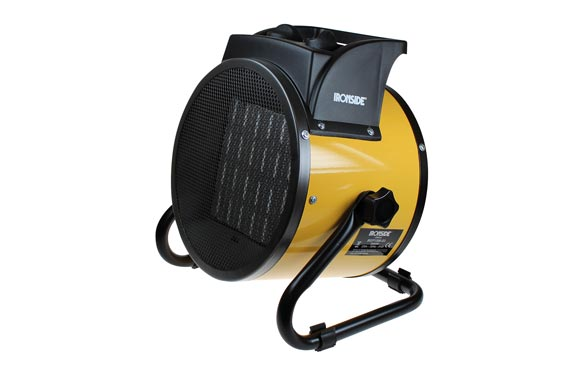 Calefactor ptc profesional 3000 w con termostato, inclinacion ajustable