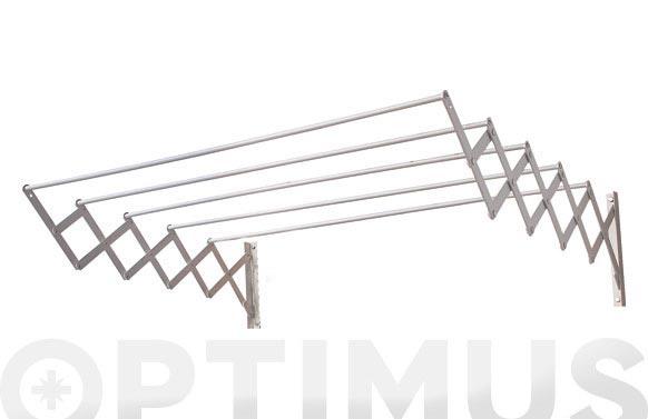 Tendedero extensible ac aluminio 80