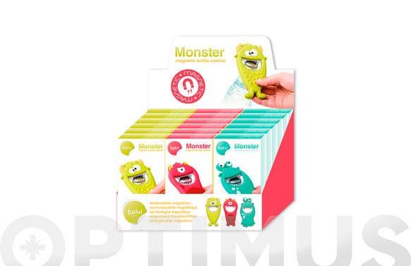 Abrebotellas pvc monster surtidos