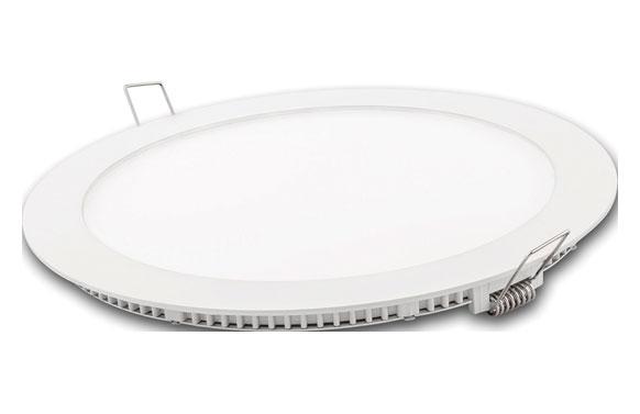 Downlight led empotrar blanco redondo 18 w 1800 lm fria (6400k)