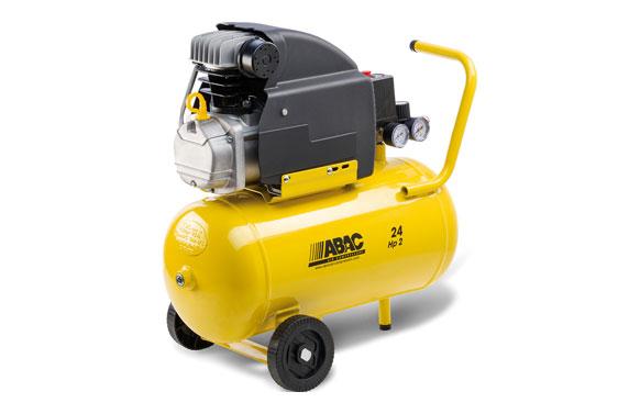 Compresor coaxial con aceite 2 cv 24 l pole position b20 baseline