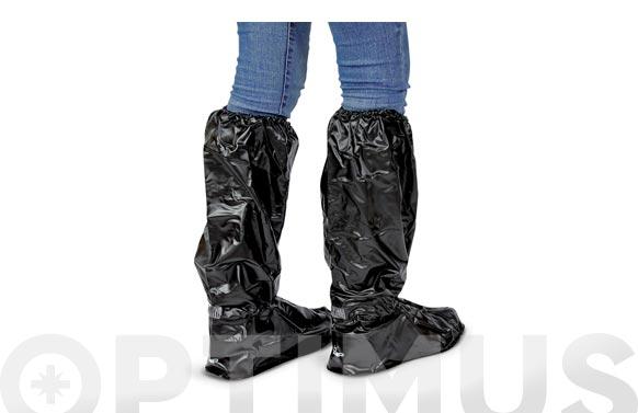 Protector de calzado impermeable 50 cm. negro tamaño s talla: 36 - 39