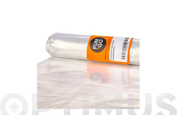 Plastico polietileno g-300 transparente 1 x 250 m