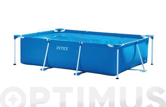 Piscina desmontable rectangular tubular frame 300 x 200 x 0.75cm 3834 lt