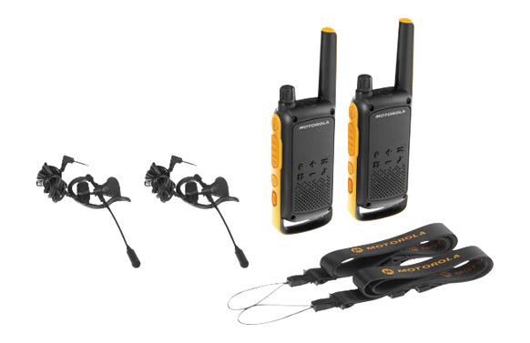 Intercomunicador walkies extreme t82 ex twin pack