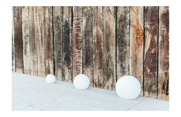 Lampara jardin buly cable ip65 ø30x26,5cm