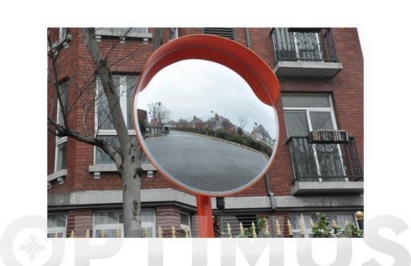 Espejo convexo de policarbonato ø 60 cm. uso en interior y exterior