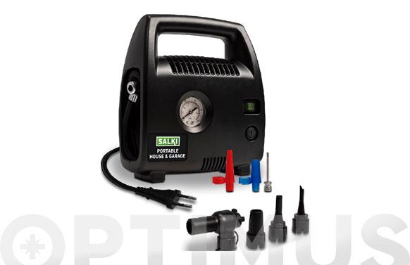 Mini compresor de aire house & garage 230 v