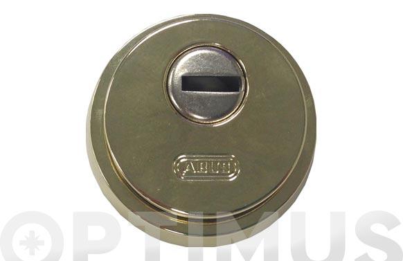 Escudo de seguridad ø 65 mm dorado